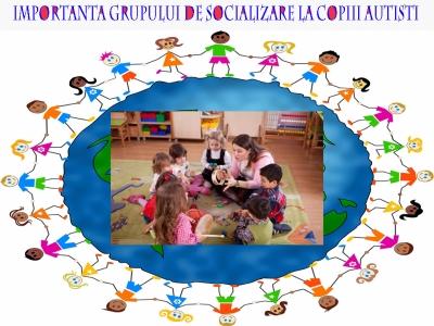 Importanta grupului de socializare la copiii autisti