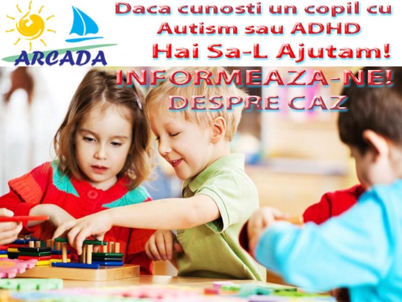 Informeaza-ne daca cunosti un copil cu autism sau adhd care are nevoie de ajutor