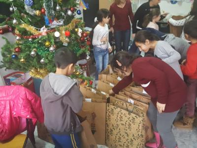 Poza Mosul a venit si la copii defavorizati de la DGASPC Sec.6 centrul de zi 2