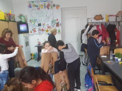 Poza Mosul a venit si la copii defavorizati de la DGASPC Sec.6 centrul de zi 3