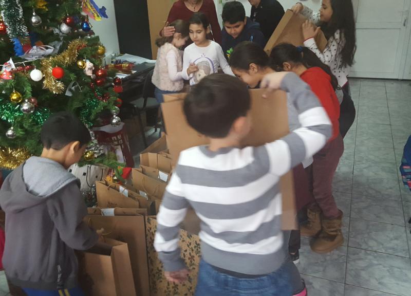 Poza Mosul a venit si la copii defavorizati de la DGASPC Sec.6 centrul de zi